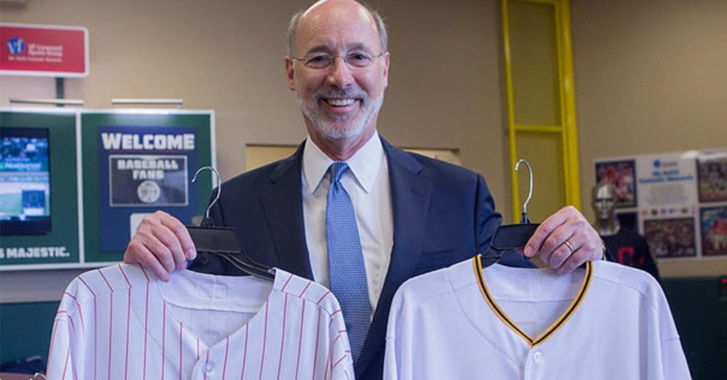 In which state did Tom Wolf run for governor?
